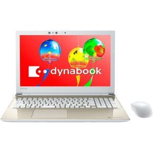 東芝 TOSHIBA PT55GGP-BEA2 ノートパソコン dynabook ダイナブック 15.6型 Core i3 メモリ4GB HDD1TB Windows10 Office付 サテンゴールド 新品 送料無料 eightloop