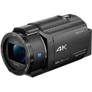 SONY ソニー FDR-AX40-BC デジタル4Kビデオカメラレコーダー ハンディカム ブラック 新品 送料無料|eightloop