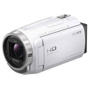 ソニー SONY HDR-CX680 W デジタルビデオカメラ Handycam ホワイト 新品 送料無料|eightloop