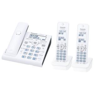 パナソニック Panasonic VE-GDW54DW-W デジタルコードレス電話機 RU・RU・RU 子機2台付き ホワイト 新品 送料無料|eightloop
