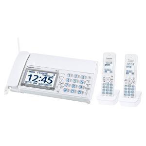 パナソニック Panasonic KX-PD600DW-W デジタルコードレス普通紙ファクス 子機2台タイプ ホワイト 新品 送料無料|eightloop