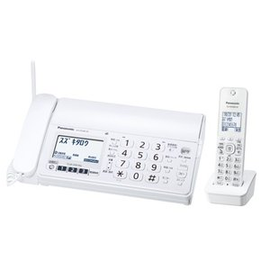 パナソニック Panasonic KX-PZ200DL-W デジタルコードレス普通紙ファクス おたっくす 子機1台付 ホワイト 新品 送料無料|eightloop