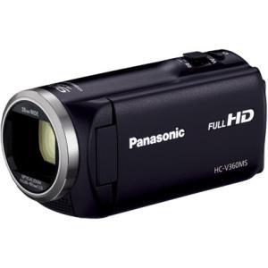パナソニック Panasonic HC-V360MS-K デジタルハイビジョンカメラ 16GB ブラック 新品 送料無料|eightloop