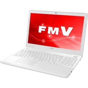 富士通 FUJITSU FMVA51C3W 15.6型ワイド Corei7-7700HQ メモリ8GB HDD1TB Blu-rayドライブ Windows 10 Office 2016 プレミアムホワイト 新品 送料無料 eightloop