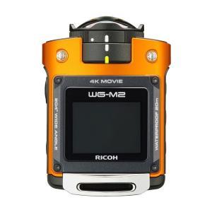 RICOH リコー アクションカメラ 4K動画 防水 耐衝撃 WG-M2 オレンジ 4K 新品 送料無料|eightloop