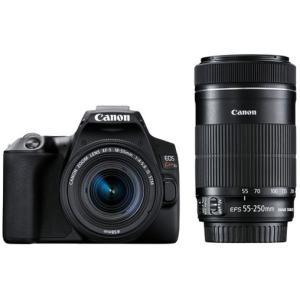 キヤノン CANON EOS Kiss X10 ダブルズームキット ブラック デジタル一眼レフカメラ ボディ+交換レンズ 新品 送料無料|eightloop