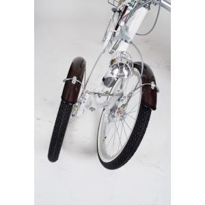 ミムゴ MG-CH243B 三輪自転車 24型 バスケット付 Bambina 新品 送料無料 メーカー倉庫より直送 納期10日前後|eightloop|04