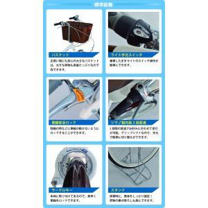 ミムゴ MG-CH243B 三輪自転車 24型 バスケット付 Bambina 新品 送料無料 メーカー倉庫より直送 納期10日前後|eightloop|09