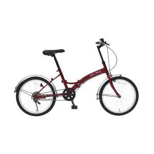 ミムゴ MG-CM20E クラシックミムゴ  折りたたみ自転車 クラシックレッド Classic Mimugo FDB20  新品 送料無料 メーカー倉庫より直送|eightloop