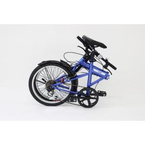 ミムゴ ACTIVE911 FDB206SF ノーパンク20インチ 折畳自転車 6段ギア ブルー MG-G206NF-BL 新品 送料無料 メーカー倉庫より直送|eightloop|11