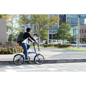 ミムゴ ACTIVE911 FDB206SF ノーパンク20インチ 折畳自転車 6段ギア ブルー MG-G206NF-BL 新品 送料無料 メーカー倉庫より直送|eightloop|17