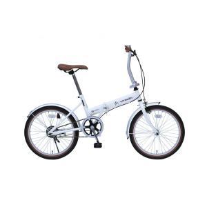 ミムゴ MG-CTN20G CITROEN シトロエン 折りたたみ自転車 20インチ シングルギア バニラホワイト 新品 送料無料 メーカー倉庫より直送|eightloop