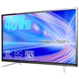 ネクシオン neXXion FT-C4020B 40V型BS・110度CS・地上波デジタル フルハイビジョン液晶テレビ 新品 送料無料の画像