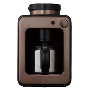 挽いて、蒸らして、ドリップする。スイッチ1つで挽きたてコーヒー。  全自動コーヒーメーカーは、挽きた...