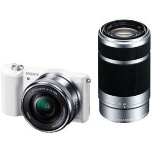 ソニー SONY ILCE-5100Y W ダブルズームレンズキット ボディ+交換レンズ ホワイト 新品 送料無料|eightloop