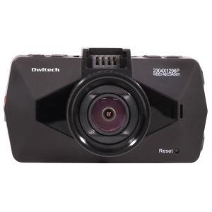 オウルテック Owltech OWL-DR06-BK ドライブレコーダー スーパーHD 超広角135° GPS付き ブラック 新品 送料無料|eightloop