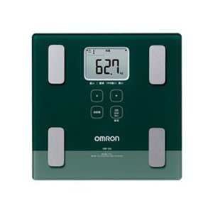 オムロン OMRON HBF-224-G 体重体組成計 カラ...