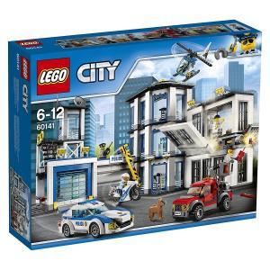アウトレット 箱痛み有 レゴ LEGO シティ レゴ シティ ポリスステーション 60141 新品 送料無料|eightloop