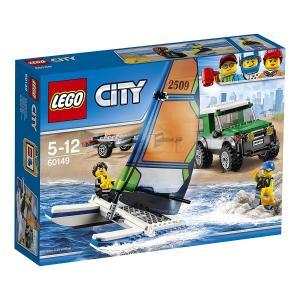 レゴ LEGO シティ ヨットと4WDキャリアー 60149 新品 送料無料|eightloop