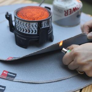 Mac outdoor 防炎シート バーナー用 バーベキュー 耐火シート