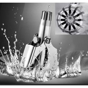 手動 回転式 鼻毛 カッター 水洗いOK クリッパー エチケット 鼻毛バリカン 女性 男性 R1104-JH|eightray-shop