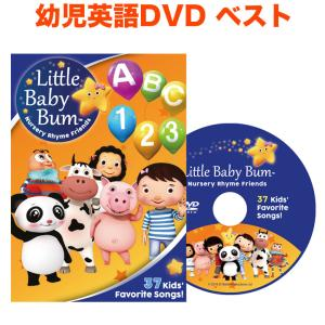 Little Baby Bum 37 Kids' Favorite Songs! 幼児英語 DVD リトル ベビー バム 英語教材 子供 英語 幼児