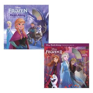 アナと雪の女王 アナと雪の女王2 英語版 朗読CD付き ディズニー 絵本 セット 幼児 子供 英語絵本 DISNEY READ ALONG Frozen 小学生 中学生