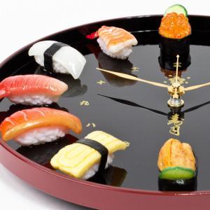 本物そっくり リアル寿司時計 食品サンプルお鮨...の詳細画像2