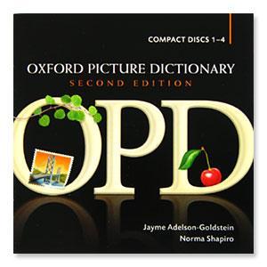 Oxford Picture Dictionary 音声CD オックスフォード ピクチャーディクショナリー 音声CD 4枚組