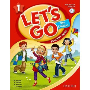 Let's Go 4th Edition 1 Student Book with Audio CD Pack