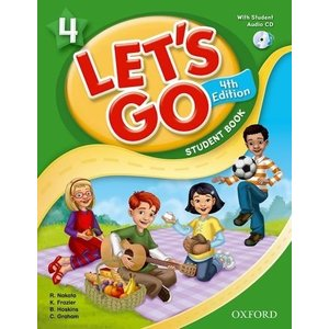 Let's Go 4th Edition 4 Student Book with Audio CD Pack