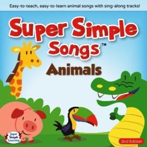 Super Simple Songs - Animals CD