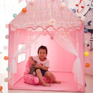キッズテントハウス 子供用プレイテント 室内屋内 ベビー 幼児 おもちゃ入れ おままごと 秘密基地 ...