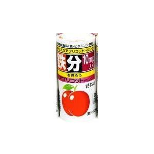 鉄ドリンク TETSU アプリコット 森食品工業