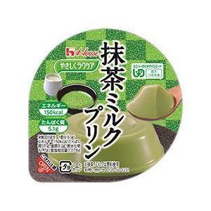ハウス やさしくラクケア 抹茶ミルクプリン 63g