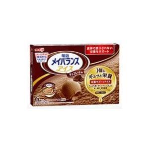 明治 メイバランスアイス チョコレート 80ml×6個入