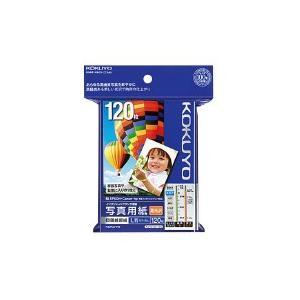 インクジェットプリンタ用紙 写真用紙(高光沢) L判 120枚     コクヨ   KJ-D12L-120 【59485339】   1袋(120枚入)