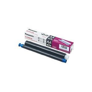 普通紙ファックス用インクフィルム KX−FAN142     Panasonic   KX-FAN142 【60191281】   1本