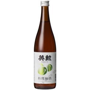 日本酒リキュール・英勲 料理梅酒・720ml詰|eikun
