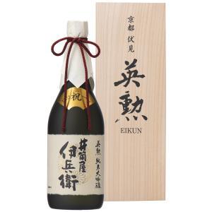 【送料無料】日本酒・英勲 純米大吟醸 井筒屋伊兵衛三割五分磨き・720ml詰(いづつやいへえ)|eikun