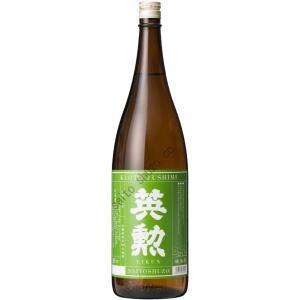 【金賞受賞】日本酒・英勲 純米酒・1.8L詰(えいくん)|eikun