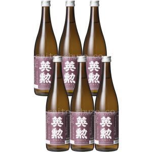 【送料無料】日本酒・英勲 本醸造「京の珀」・720ml詰*6本セット eikun