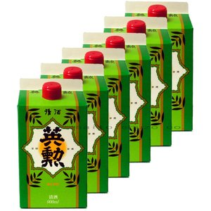 【送料無料】日本酒・英勲 パック・900ml詰*6本セット eikun