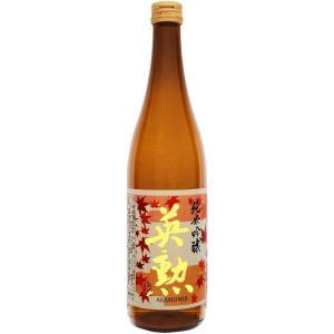 【期間限定】日本酒・英勲 純米吟醸「赤紅葉」・720ml詰(あかもみじ) eikun