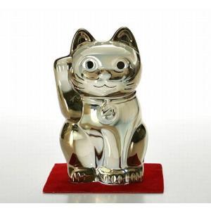 バカラ オブジェ 2612 997 まねき猫 H10cm ゴールド|eins