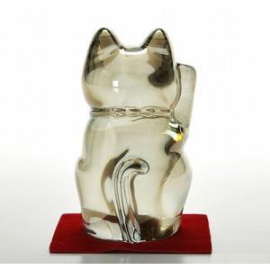 バカラ オブジェ 2612 997 まねき猫 H10cm ゴールド|eins|03