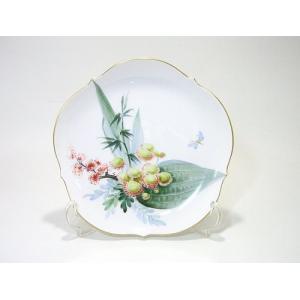 マイセン・水辺の花・500310 18cmプレート・23501 (No.2)|eins