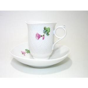 マイセン・アルペンフローラ・616101 コーヒーカップ&ソーサー ・29582  (No.4)|eins