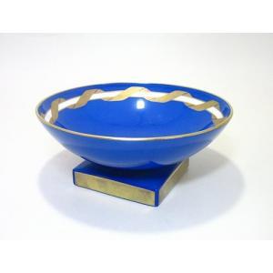 リチャードジノリ・アマデウスの唄 ブルー 大円杯 φ16cm...