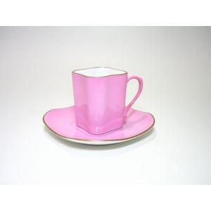 リチャードジノリ カラーコレクション・ピンク エスプレッソC...